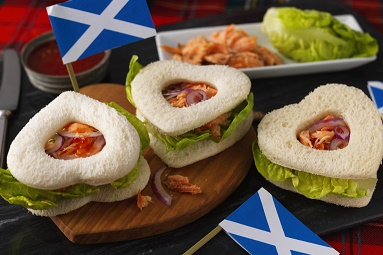 Scotish Salmon Hearts for Rugby World Cup