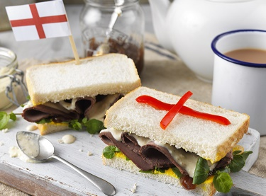 Ultimate Englishman's Roast Beef Sandwich for Rugby World Cup