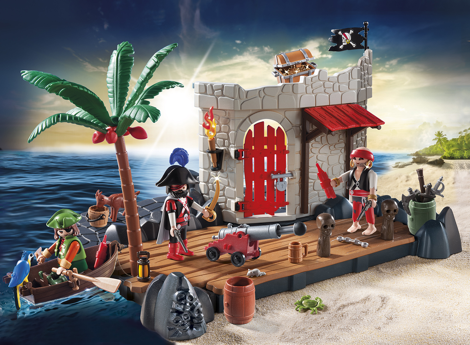 PLAYMOBIL_6146_Pirate Fort SuperSet