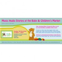 Music Audio Stories at the Baby and Children's Market UK