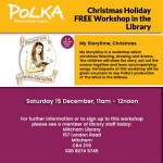Polka Theatre Presents: Storytime with Anna-Christina Christmas Magic