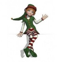 Santa's Elves Toddler Christmas Party - Child