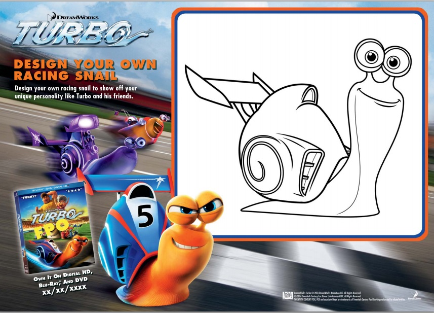 turbo activity sheets