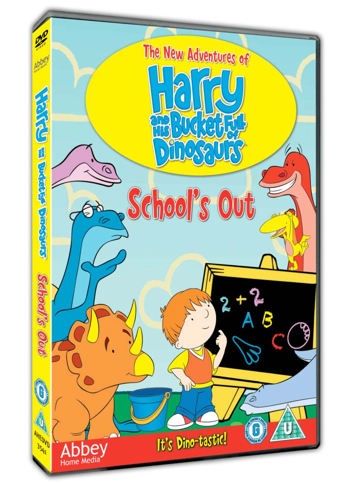 Harry And His Bucket Full Of Dinosaurs - Schools Out - review ...