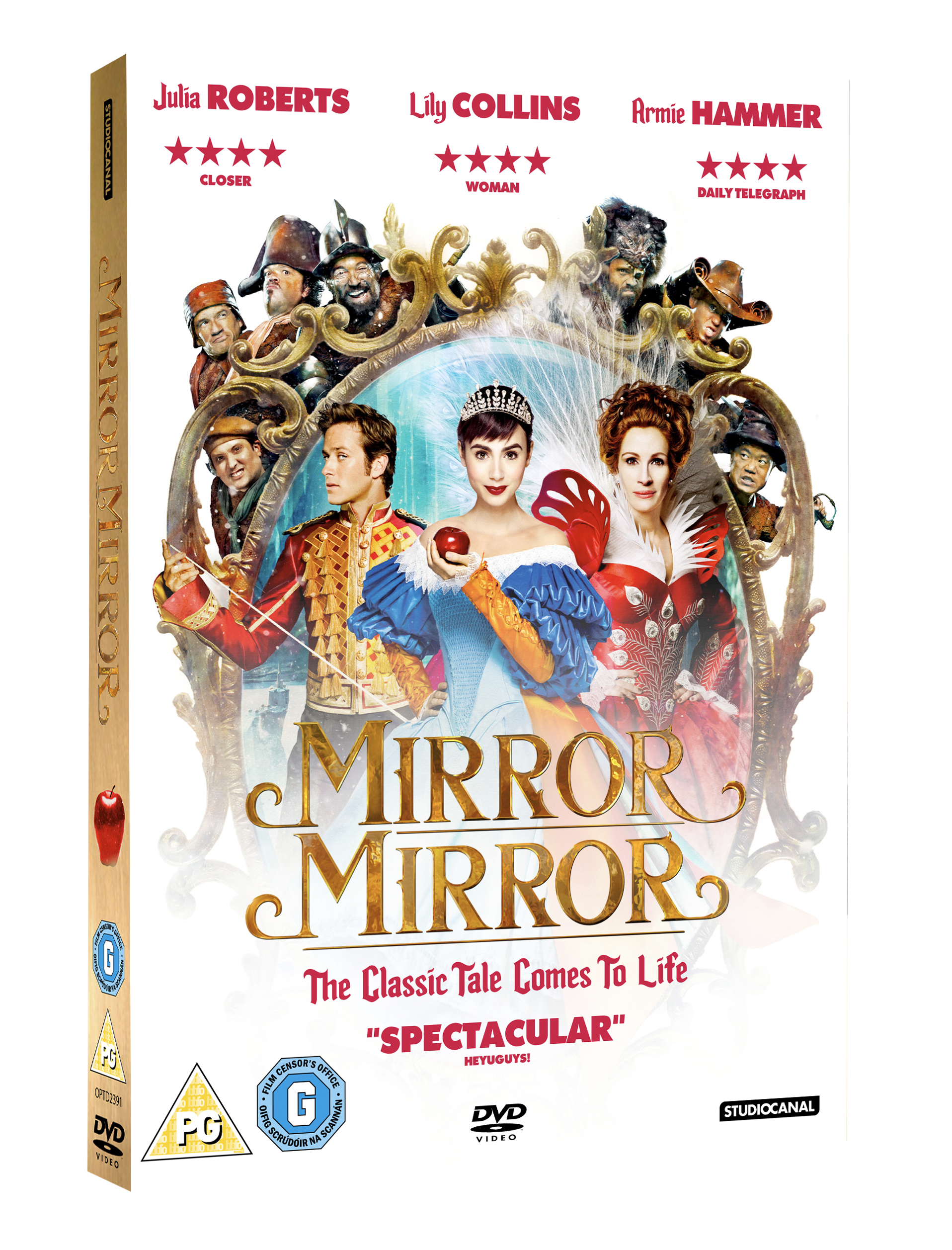 Mirror mirror review what to do with the kids for Mirror mirror cast